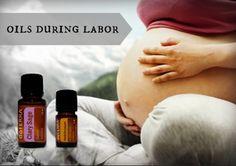 Anwendung von doTERRA ätherischen Ölen während der Geburt - http://www.doterraromatherapie.com/de/doterra-aetherische-oele-geburt/