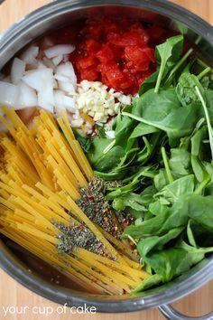one pot italian noodle soup