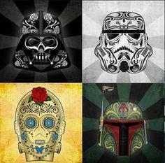 Star wars - Sugar skulls