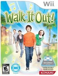 PLAYING WALK IT OUT ON MY WII-This is my favorite wii game so far. It's also one of my favorite exercises. I need fun in my exercise or I have no motivation.