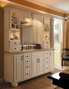 Kitchen Design, Renovations & Remodeling NJ Our kitchen remodeling projects are designed within your budget, including labor, materials. Weathered Furniture, Marshmallow Cream, Bathroom Renovations, Bathrooms, Home Trends, Home Additions, Do It Yourself Home, Beautiful Interiors, Dressing Room
