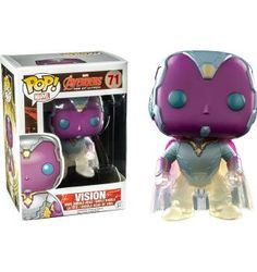 Phasing Vision - Marvel: The Avengers - Exclusive Funko Pop! Vinyl Figure