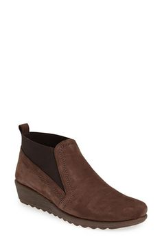 THE FLEXX 'Drunken' Nubuck Leather Boot (Women) available at #Nordstrom