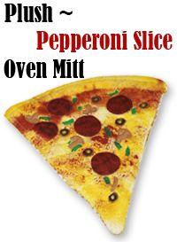 A pizza oven mitt!