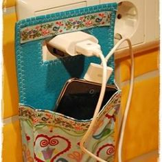 Tute Tuesday: Charging Phone Holder | Craftster Blog