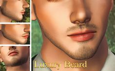 "edorenel: "" I truly love this beard… :) I had to share it, an amazing find. ""Luxury Beard"" by Pantaogranny. Best Sims, My Sims, Sims Cc, Mens Facial, Facial Hair, Beard Accessories, Sims 4 Characters, Sims 4 Cc Packs, Sims Hair"