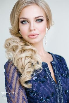half-up-wavy-long-wedding-hairstyle.jpg (600×899)