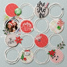 Merry Christmas by IsaMarks at the lilypad Christmas Scrapbook Layouts, Scrapbook Paper Crafts, Scrapbook Supplies, Scrapbook Cards, Christmas Layout, Christmas Mini Albums, Scrapbook Sketches, Scrapbook Page Layouts, Circle Scrapbook