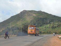 Machakos County Masaku to Kitui Road view from Kaseve market