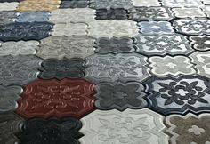 Плитка из микроцемента и бетона - Piacere-Interiors