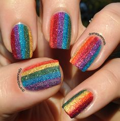Colors. DIY Nail Art.  Nail Design. Style. Woman. Fashion. Blue. Creative.