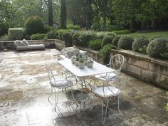 Terrace, classic, elegant, France