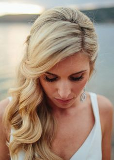lovely hair - a friend of a friend on her wedding day