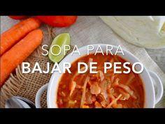 Sopa de repollo (sopa para adelgazar o bajar de peso)