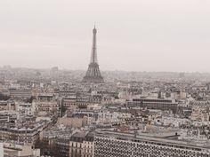 View from 24th floor, Hyatt Regency Paris Etoile