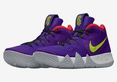 NIKEiD Kyrie 4 | SneakerNews.com #thatdope #sneakers #luxury #dope #