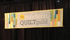 Quilting the MQG Logo « The Modern Quilt Guild