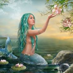 I love all fantasy and mythical stuff, but my favorite ones are mermaids.So this is a collection of mermaid images I've been picking all over the internet. Fantasy Mermaids, Mermaids And Mermen, Mermaids Exist, Pretty Mermaids, Real Mermaids, Mermaid Shower Curtain, Shower Curtains, Mermaid Stories, Mermaid Wallpapers