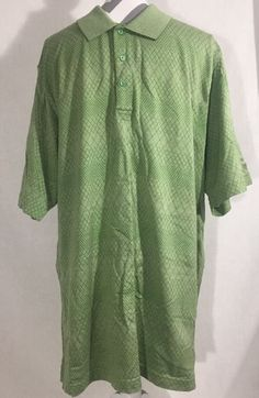 Men's Izod Golf Classix Polo Green Short Sleeve Athletic Shirt Size XL  | eBay