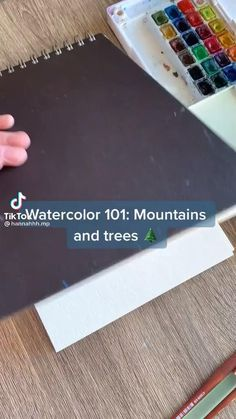 Watercolor Art Lessons, Watercolor Landscape, Watercolor Paintings, Watercolour, Small Canvas Art, Mini Canvas Art, Canvas Painting Tutorials, Art Drawings Sketches Simple, Aesthetic Art