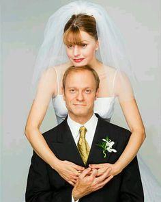 Frasier Niles and Daphanie wed
