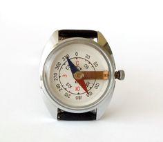 Vintage Handgelenk Kompass von Chistopol Watch von USSRvintage