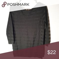 Loft sheer blouse Size medium LOFT Sweaters Crew & Scoop Necks