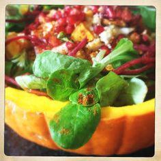 Slice Of Slim: HALLOWEEN!! : Roast Butternut Squash, Quinoa & Feta Salad