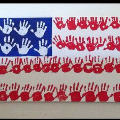 For Fourth of July or Memorial Day? Patriotic Crafts, July Crafts, Classroom Crafts, Preschool Activities, Rock Design, Memorial Day, Projects For Kids, Crafts For Kids, Auction Projects