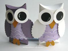 Owl Favor Boxes