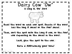 Ou-ow worksheets. Fun in first grade,School,School stuff,Special ...