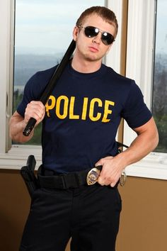 Amerikai rendőr férfi jelmez