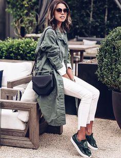 Rien de tel qu'un sac ultra structuré pour relever un look casual ! (sac M2Malletier - photo Annabelle Fleur)