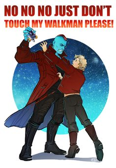 Younger Peter and Yondu also titled why ego is the worst fucking thing in the multiverse
