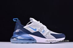https://www.kengriffeyshoes.com/nike-air-max-270-ah8050144-white-ice-blue-new-style.html NIKE AIR MAX 270 AH8050-144 WHITE ICE BLUE NEW STYLE Only $88.22 , Free Shipping!