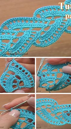 Stripy Lace Crochet Motif You Can Easy LearnTape lace is one of the most popular topics in crochet world. Crochet Stitches Patterns, Doily Patterns, Crochet Motif, Crochet Doilies, Crochet Lace, Stitch Patterns, Knitting Patterns, Crochet Coaster, Dress Patterns