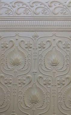 edwardian lincrusta dado paneling. Black Bedroom Furniture Sets. Home Design Ideas