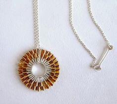 idili jewels plecs / pliegues/ folded Pendant