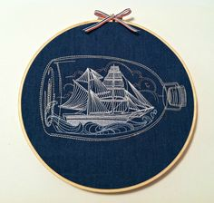 Hey, I found this really awesome Etsy listing at https://www.etsy.com/listing/172300741/ship-in-a-bottle-nautical-embroidery