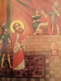 Early icon by Isaac Fanous