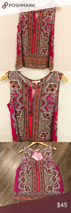 ROSE & RHYME 💕 NWT Pink Blouse ROSE & RHYME 💕 NWT Pink Blouse. Size M. rose & rhyme Tops