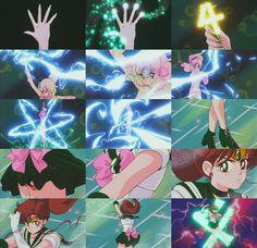Sailor Jupiter - Jupiter Star Power, Make Up! (Season 2 - Sailor Moon R )