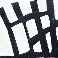 Original Abstract Painting by Joy Pesaturo Original Art, Original Paintings, Black Architecture, Minimalist Architecture, Buy Art, Saatchi Art, Abstract Art, Canvas Art, Fence Painting