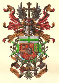 One of the great heraldic artists of the Military and Hospitaller Order of St. Lazarus of Jerusalem is Spanish Artist, Carlos Navarro. These images come from Carlos' website: heraldicahispanic... -- Armas de D. Antonio Barrera y Jamime de Acre
