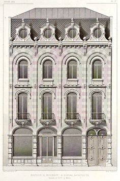 Elevation for a house, Roubaix