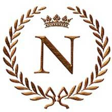Napoleon initial letter M monogram Tile Coaster by JackTheLads - CafePress Letter N, Initial Letters, N Letter Design, Lettering Design, Logo Design, Alphabet Wallpaper, Renz, H Logos, Quilling