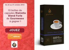 Gagnez 100 capsules de café Gourmesso (compatible Nespresso®)