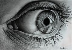 Pencil drawing By Jasper Branse via A different type of Art