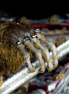 Rome's incredible jeweled skeletons