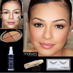 You don't need to pack much on your next holiday with motives cosmetics